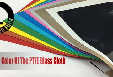 Custom color of PTFE glass cloth